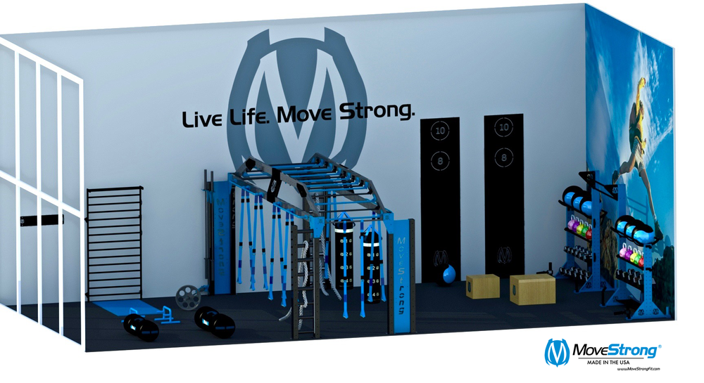 Functional Fitness gym room layout