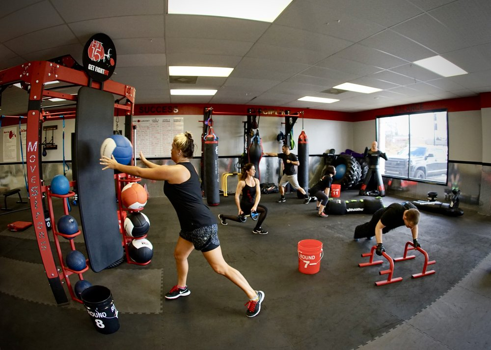 Group Training fight fitness workouts