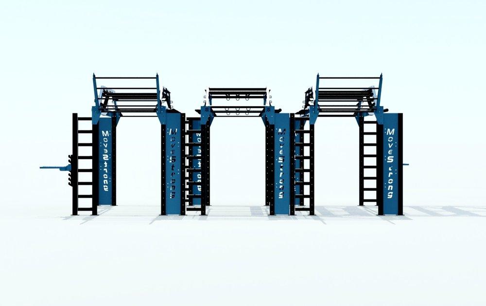 MoveStrong triple Nova XL bridge