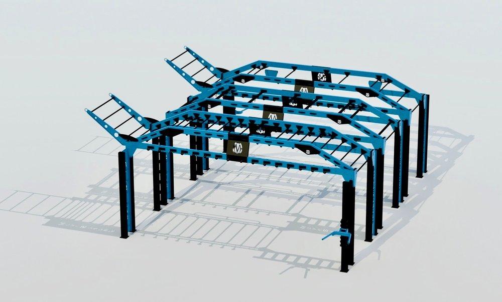 MoveStrong Nova XL Triple Bridge