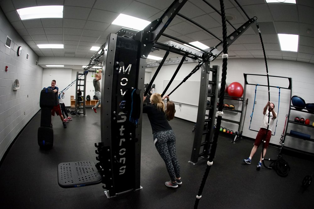 Circuit functional fitness class