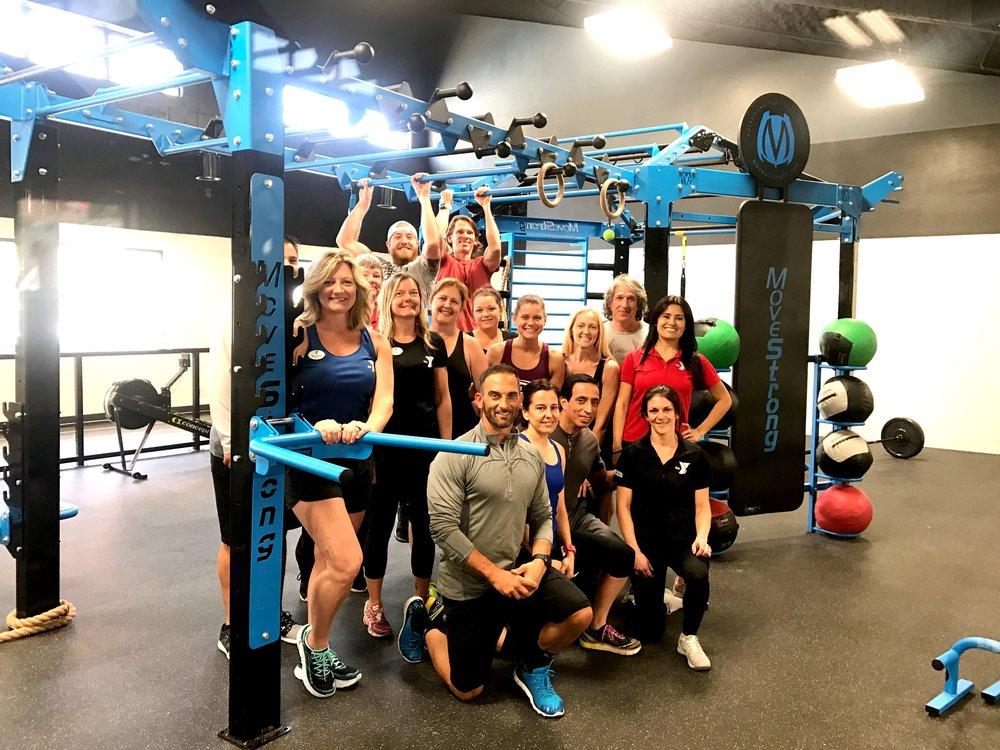 YMCA Bob Sierra MoveStrong Training