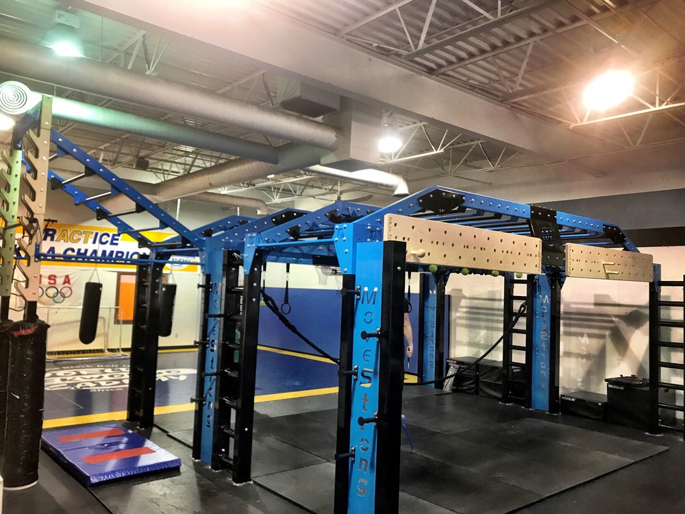 Ninja Warrior training area