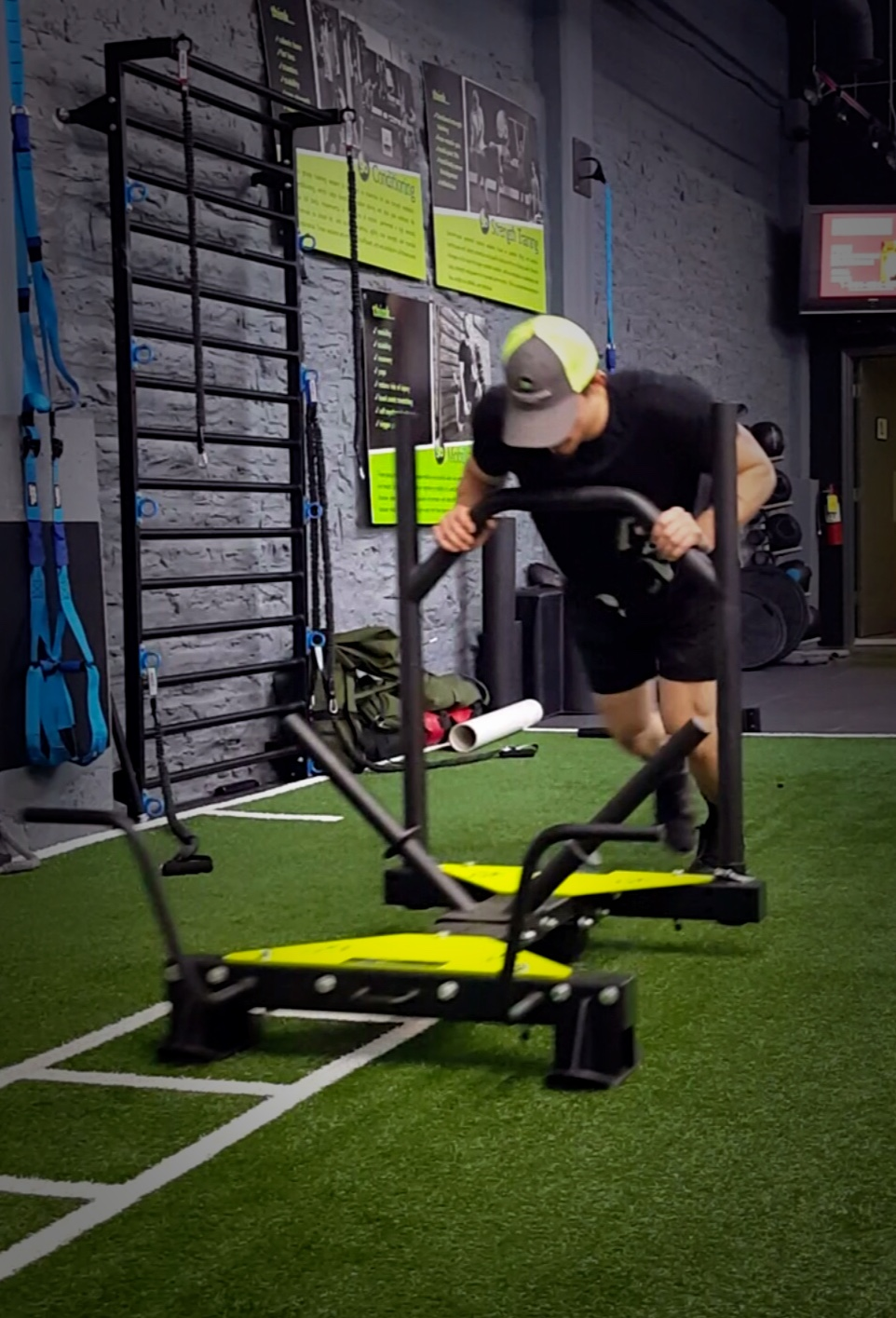 Strength & Conditioning with Power Sled