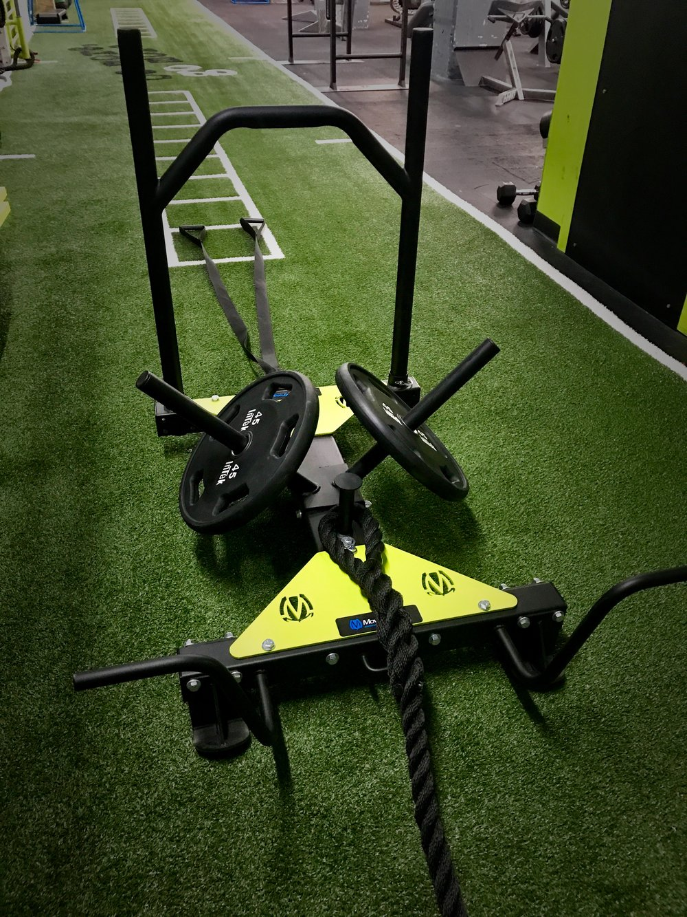 Power Sled with Multiple exercise options