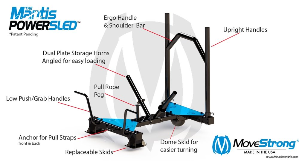 Specially design training features for Sled