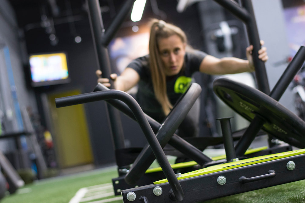 Heart pounding conditioning with the Mantis Sled