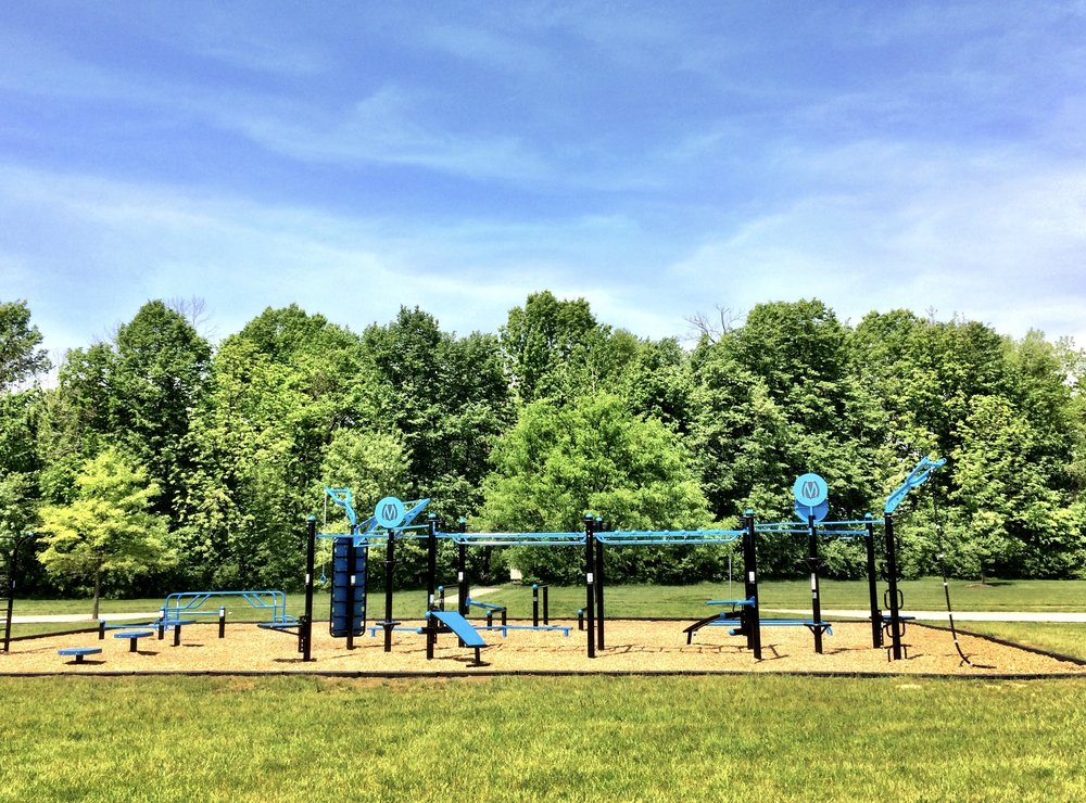 Outdoor Fitness Equipment for Functional Training