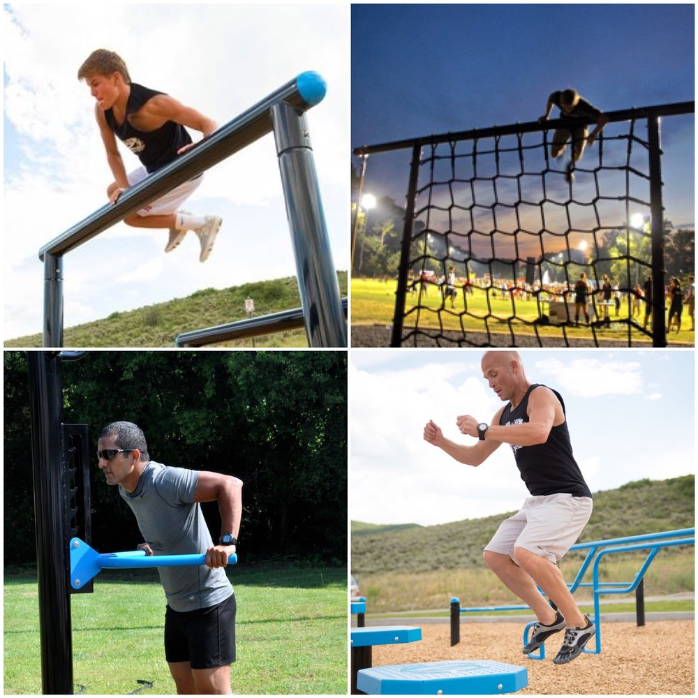 MoveStrong outdoor fitness equipment