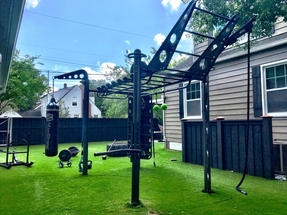 4-post T-Rex Functional Training Station