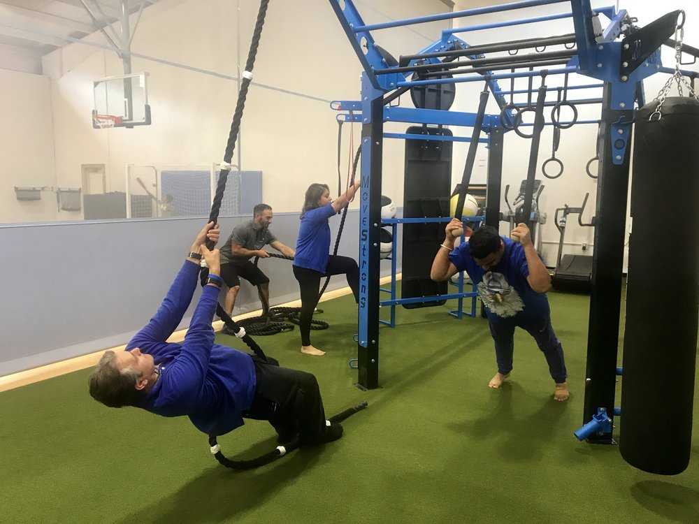 Adult group functional fitness