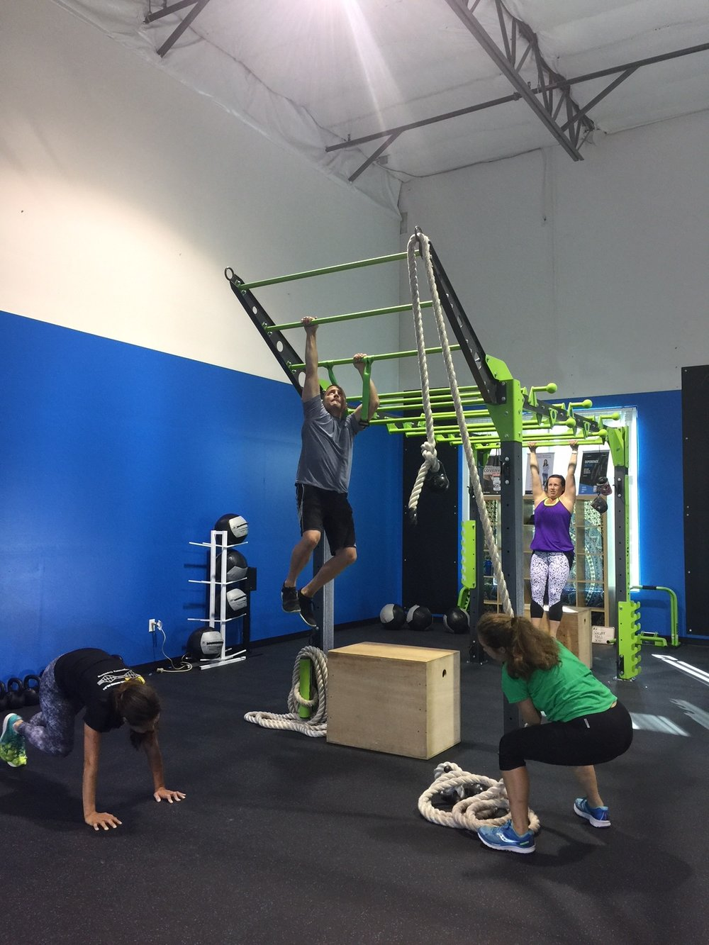 Custom functional fitness equipment