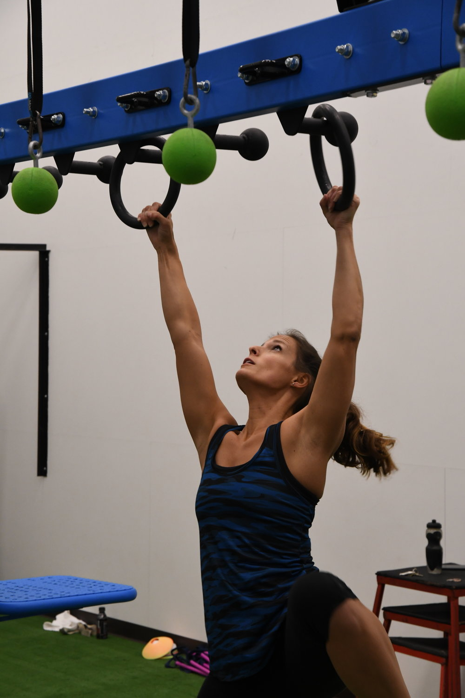 Bodyweight ninja warrior exercise