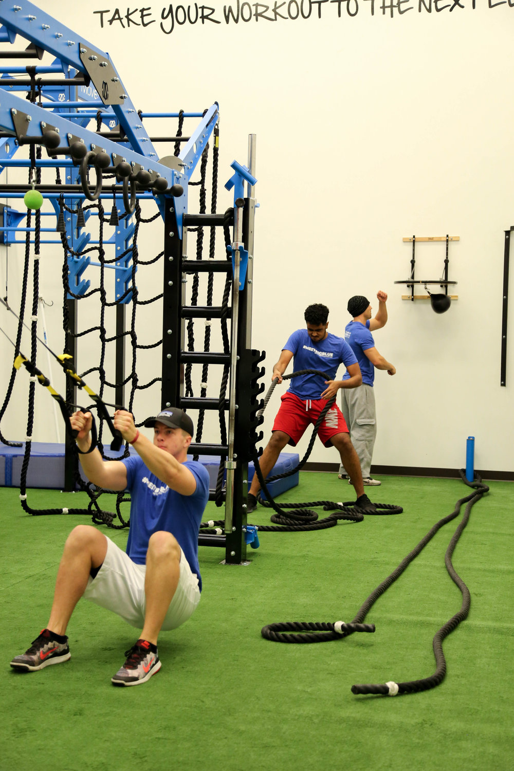 Group Functional Fitness Training
