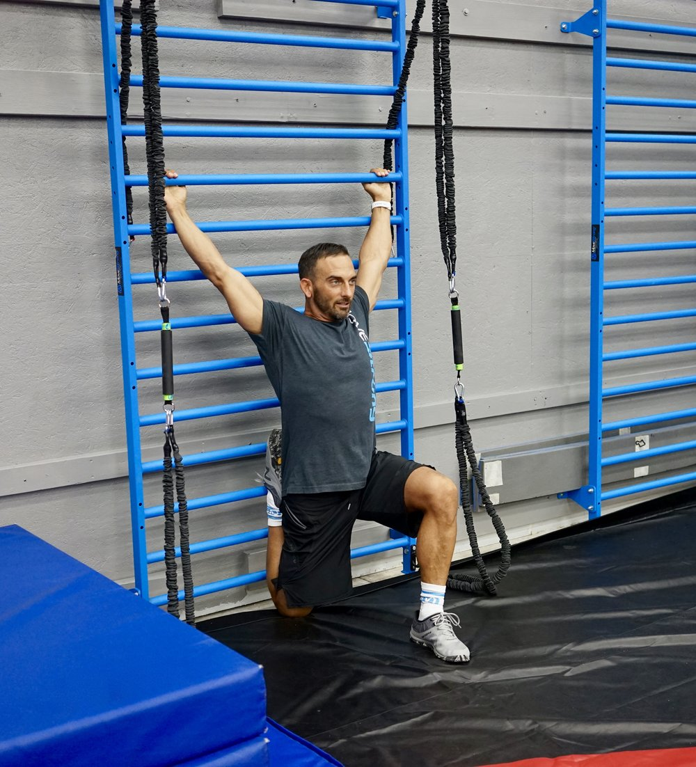 Stall Bars for mobility stretching