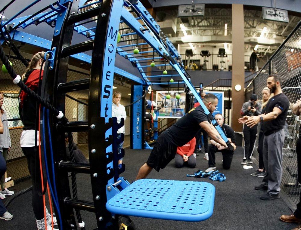 Elevate Trainer push-up