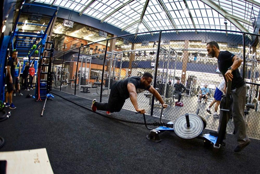MoveStrong sled push