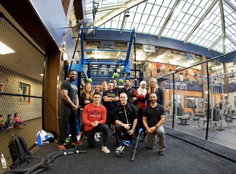 MoveStrong workshop for Golds Gym