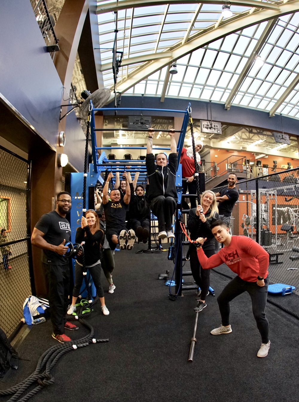 Gym staff training for Functional Fitness