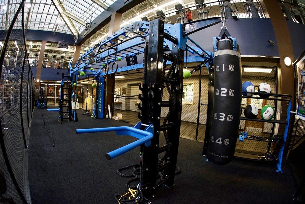 Team Training dedicated area