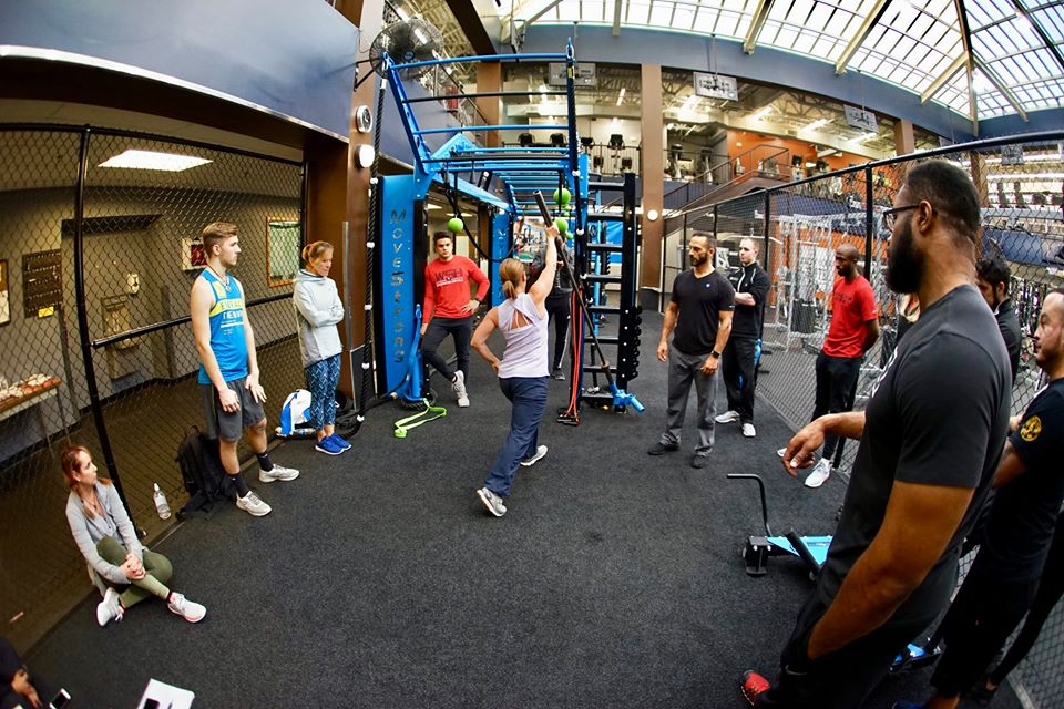 Group functional training workshop