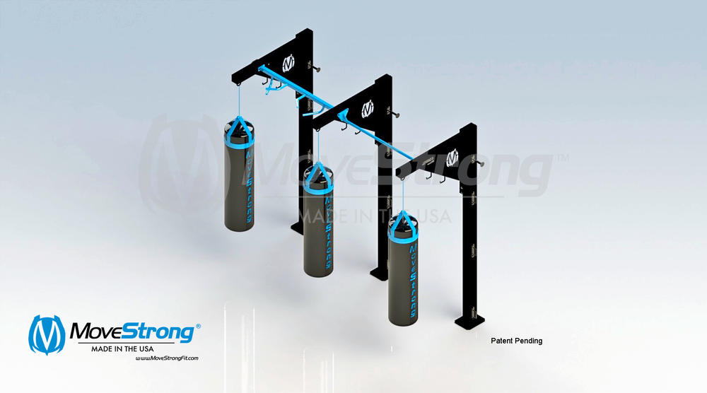 Modular Heavy Bag Stands
