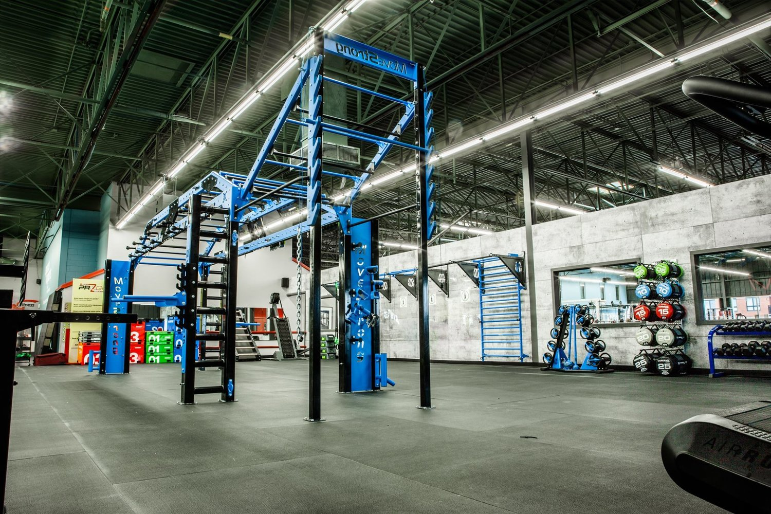 Pro gym montreal adds movestrong functional training movestrong