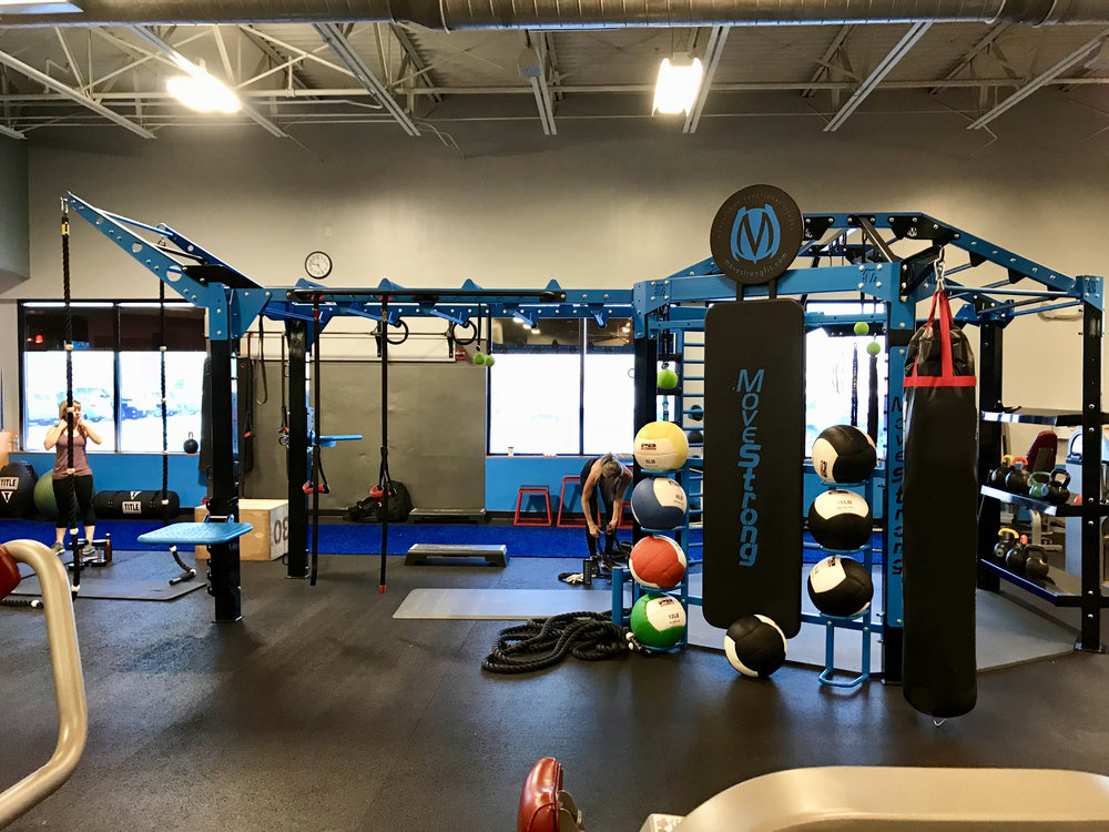 Functional Training Station for Group Workouts