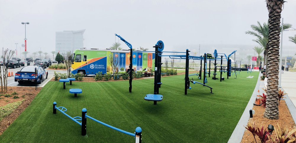 Florida Hospital's FitPark