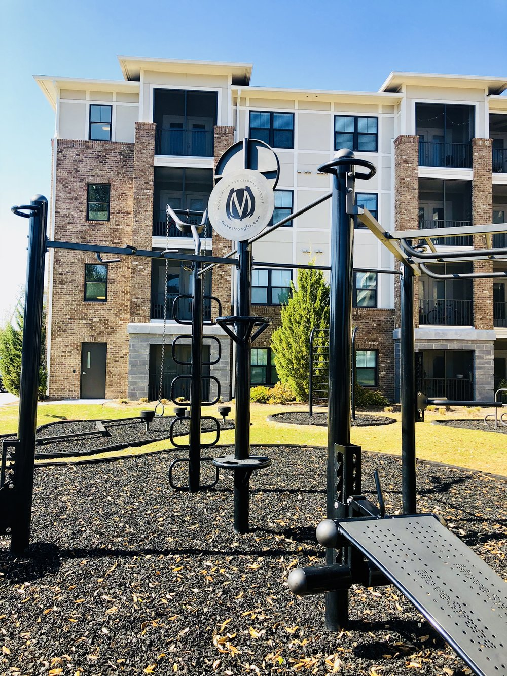 Outdoor Fitnes Equipment For Apartments