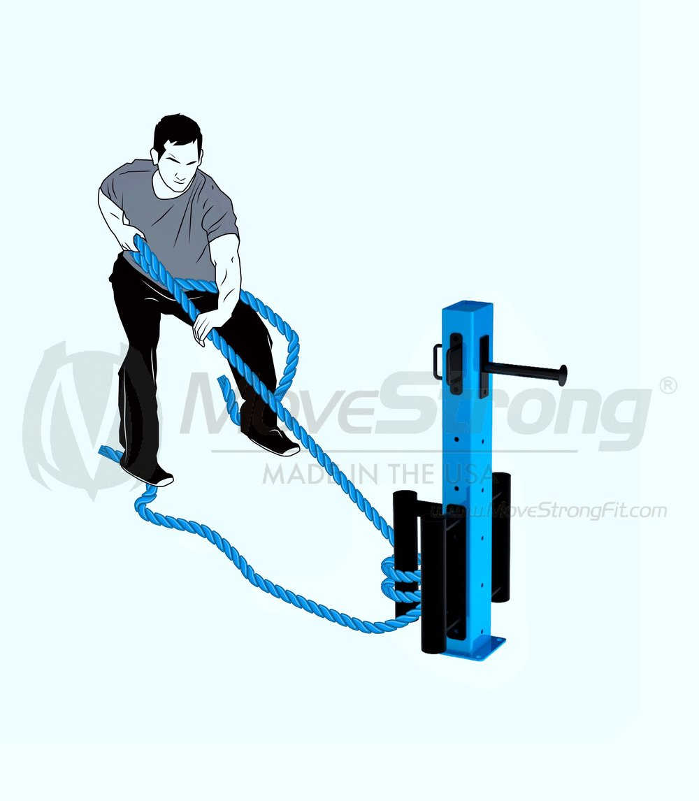 Training Rope Pull Exercise