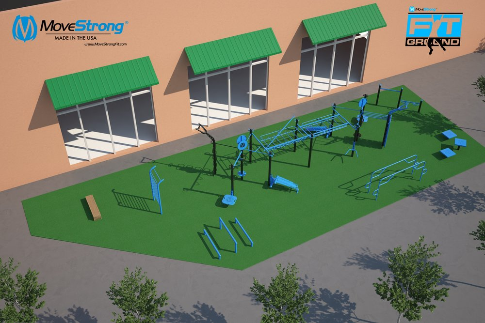 MoveStrong FitGround Outdoor Fitness Design