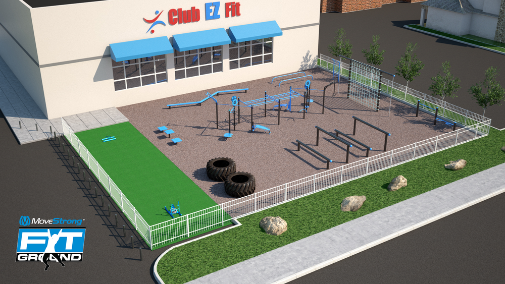 MoveStrong Outdoor Gym Fitness Design