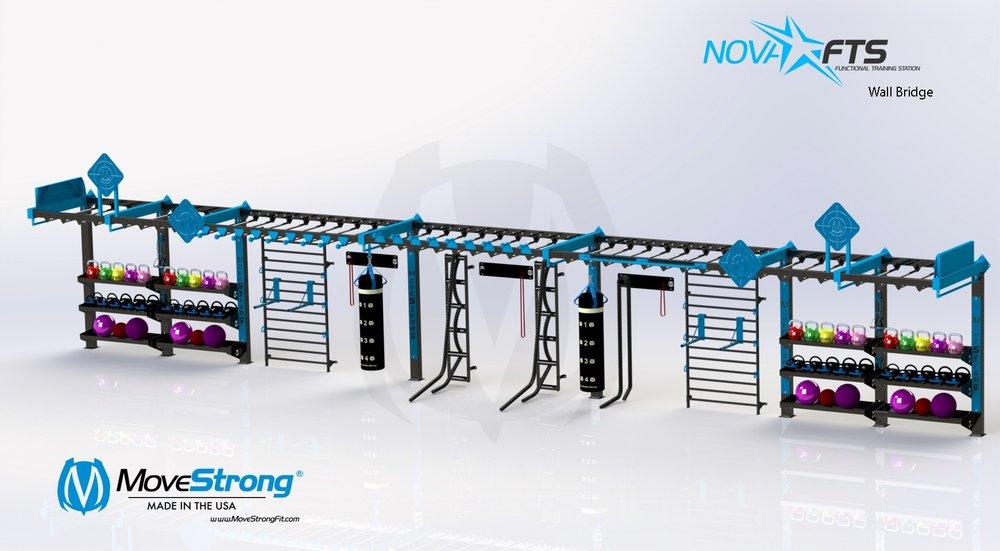 Custom 50' Nova Wall FTS