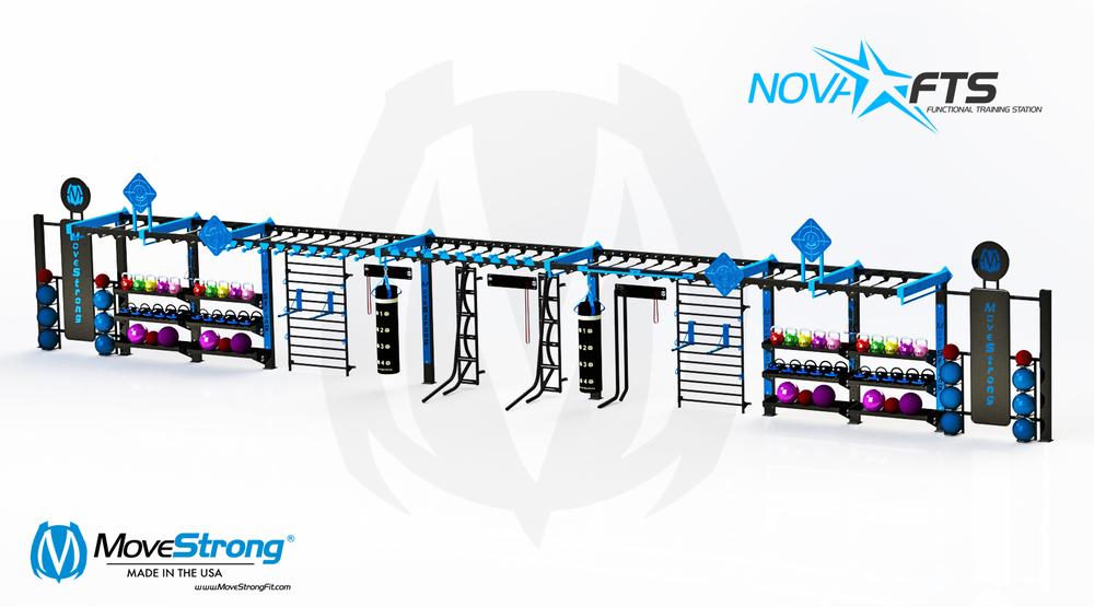 60' length Custom Nova Wall FTS
