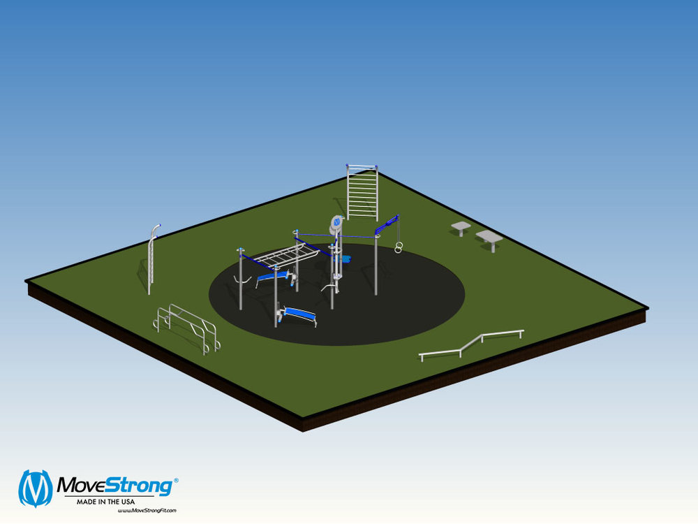 Home Owner Associate Outdoor Fitness Layout