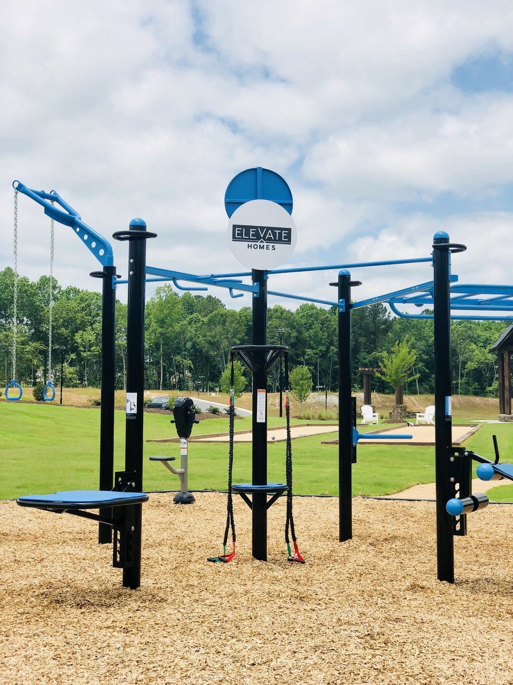 MoveStrong Outdoor Gym For Housing Community