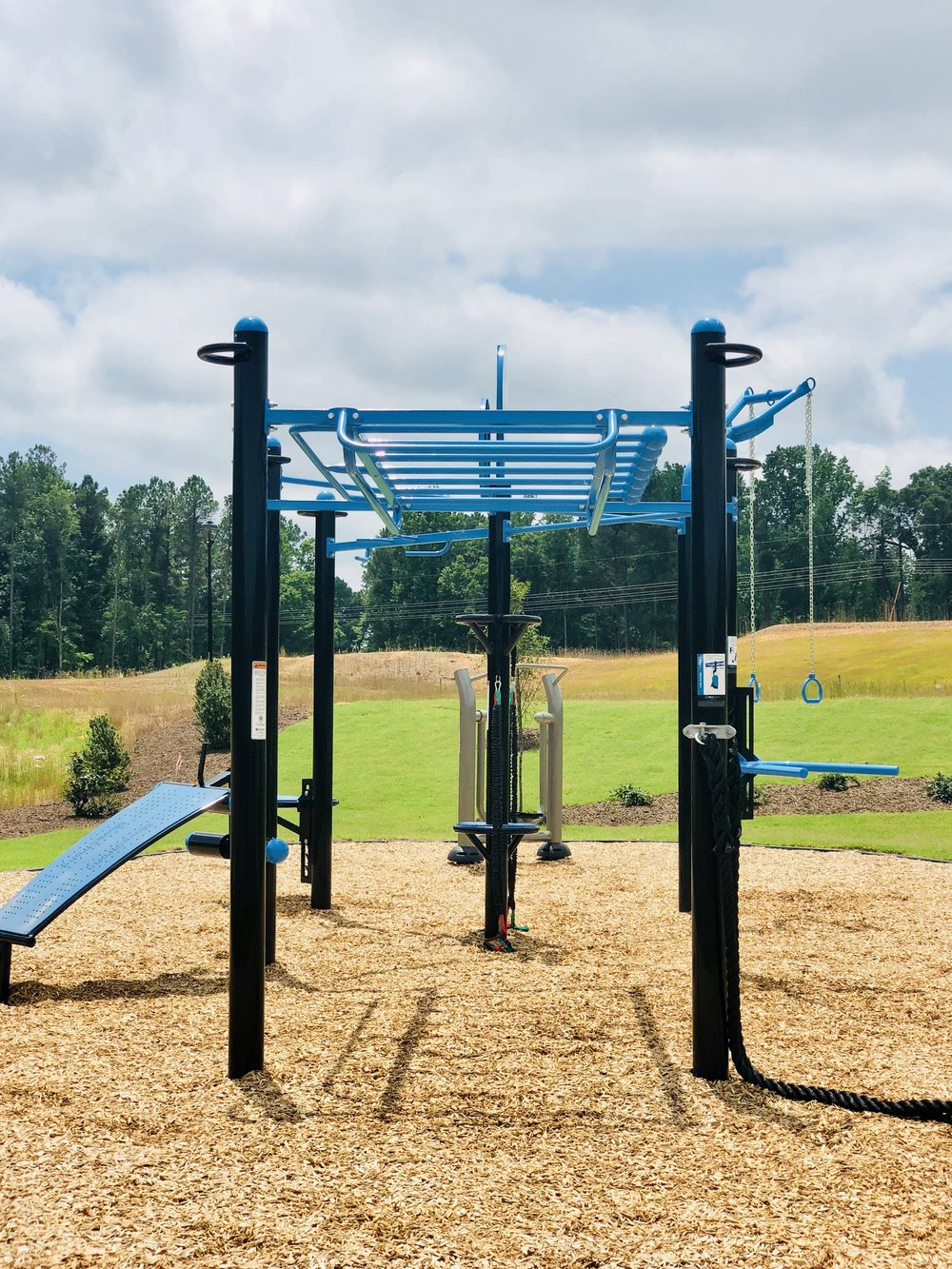 outdoor gym with MoveStrong