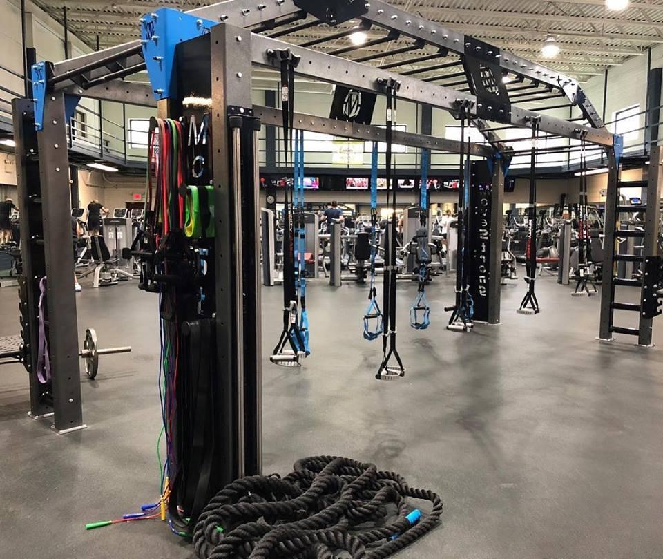 Gym HIIT Training Program MoveStrong Equipment