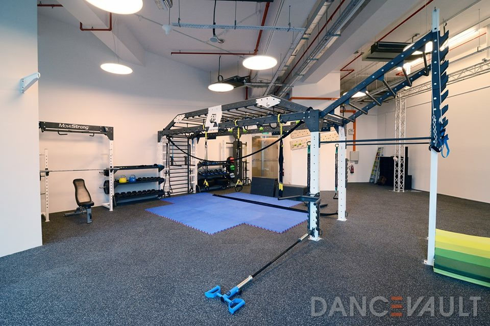 Dance fitness studio layout