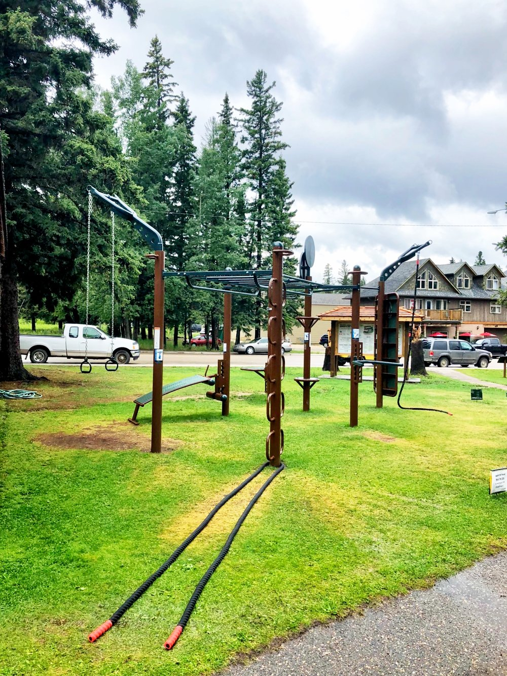 Parks and Recs for outdoor fitness
