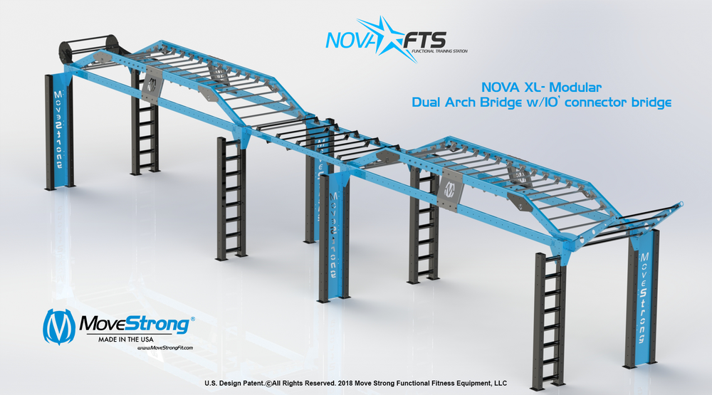 Nova Long Arch Bridge - 10ft Horizontal Bridge - 2.png
