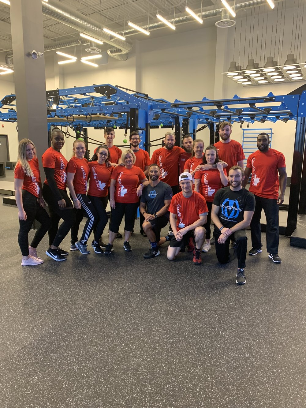 MoveStrong Goodlife Fitness Training
