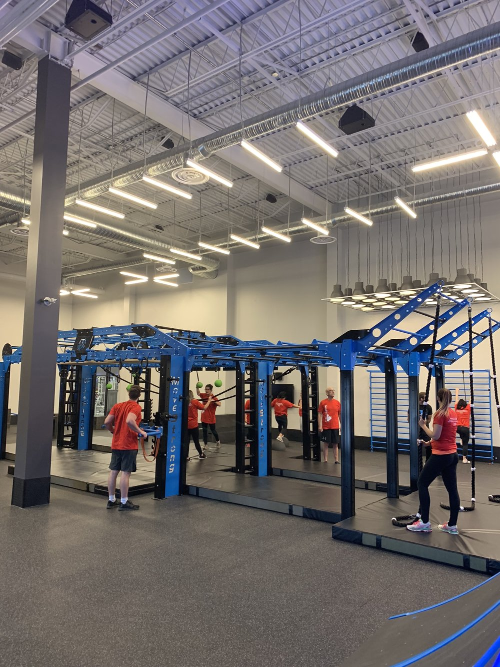 Group Functional Fitness class