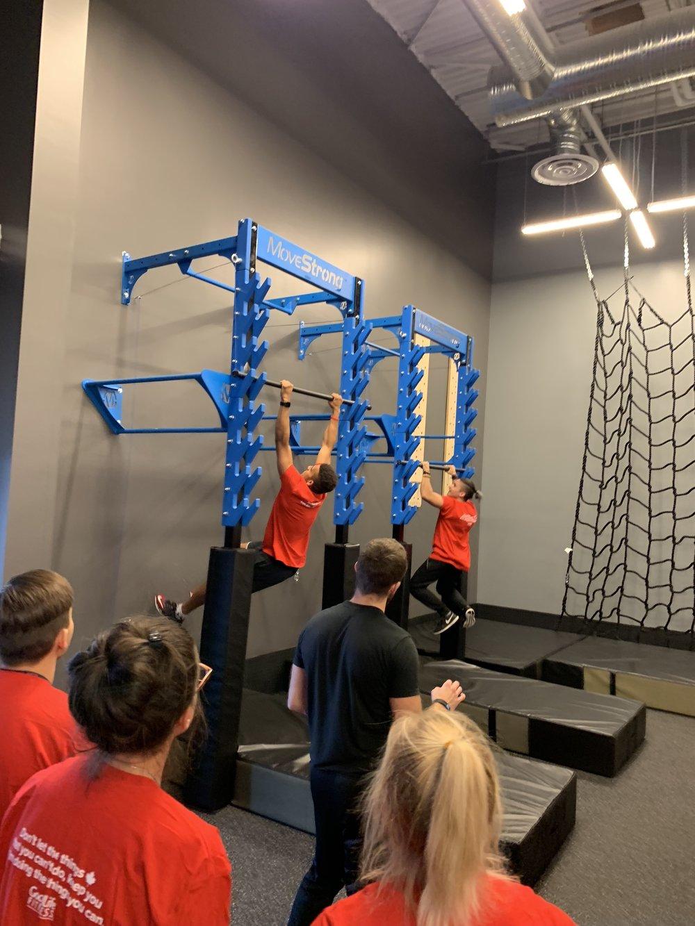 Salmon Ladder learning