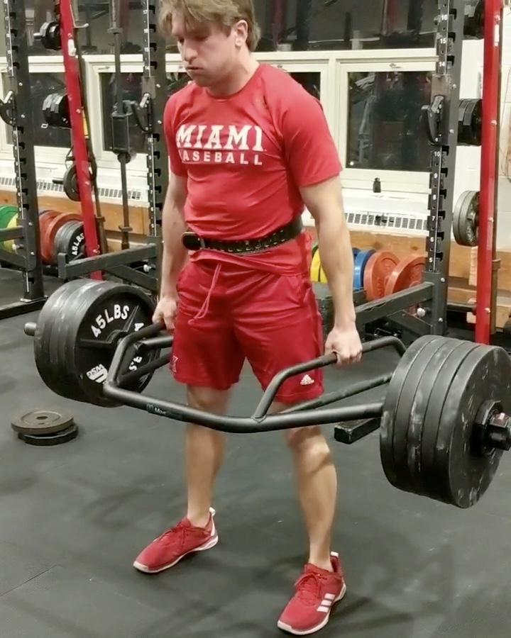 Baseball Athletes Strength Training