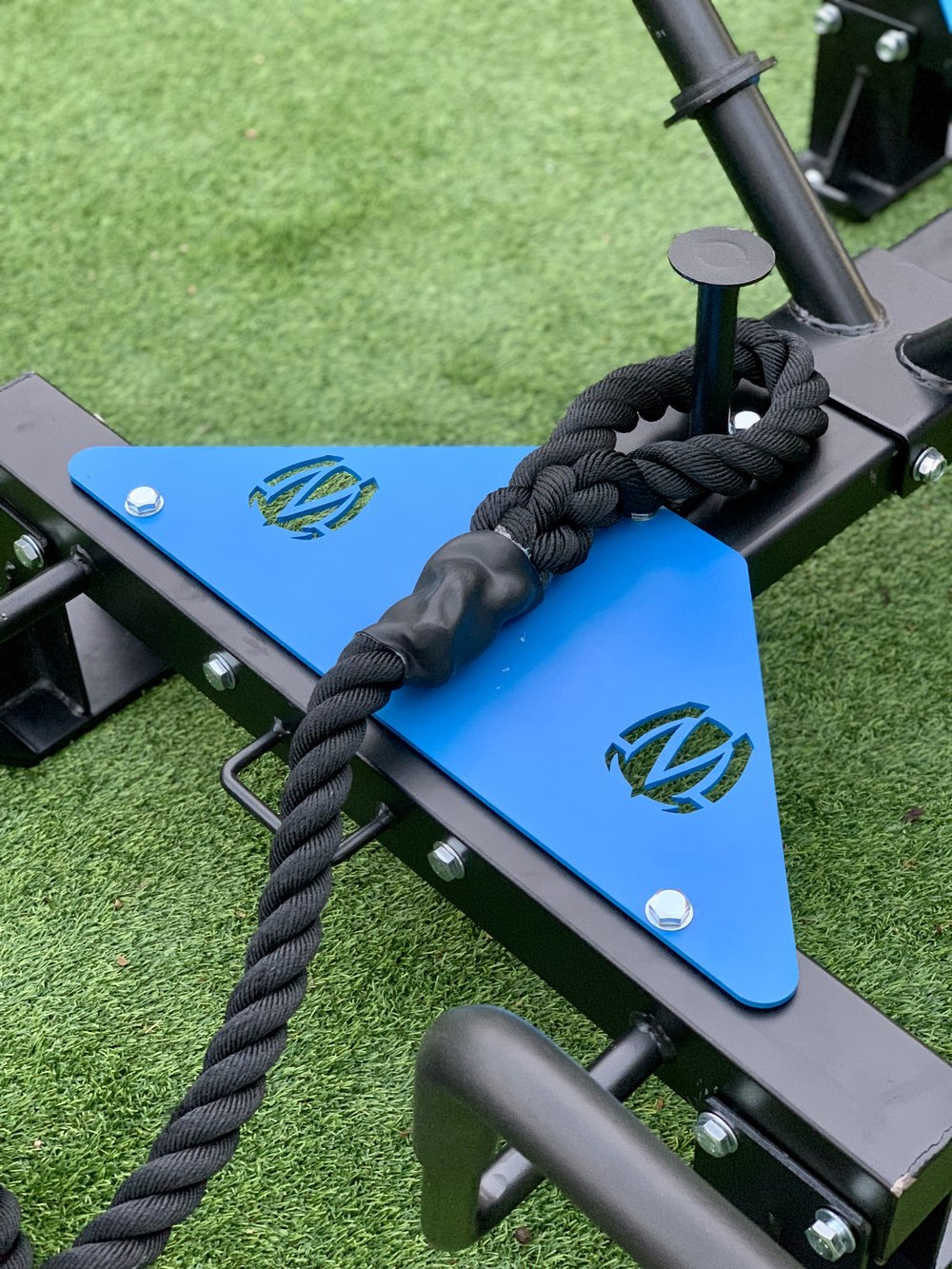 Rope anchor attachment for Mantis Power Sled