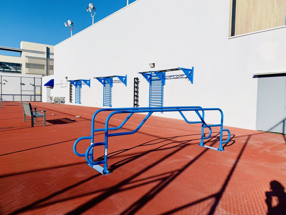 MoveStrong Elite Parallel Bars Outdoor