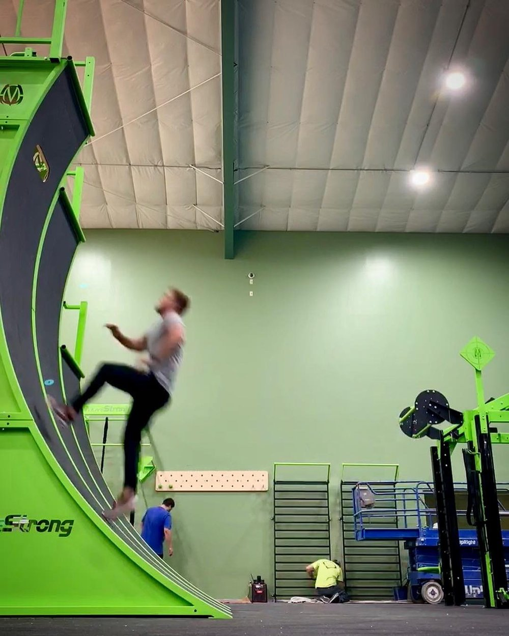 Warped Wall Training