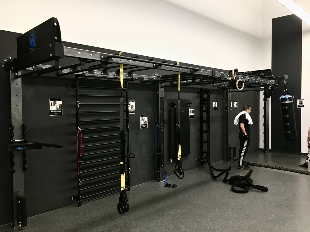 YMCA Functional Fitness Training room